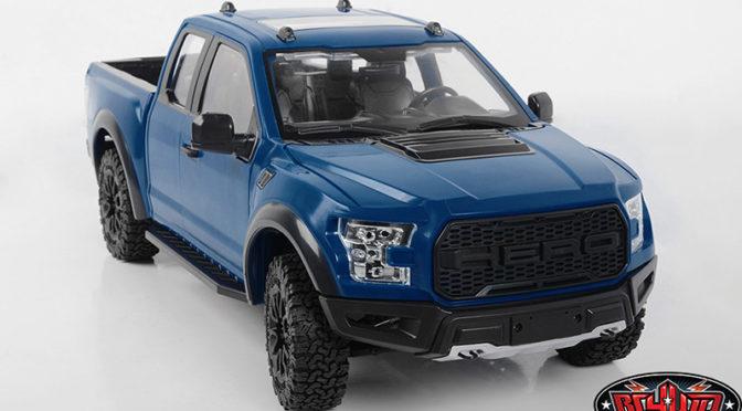 1/10 Desert Runner RTR Scale Truck w/Hero Hard Body Set (Blue)