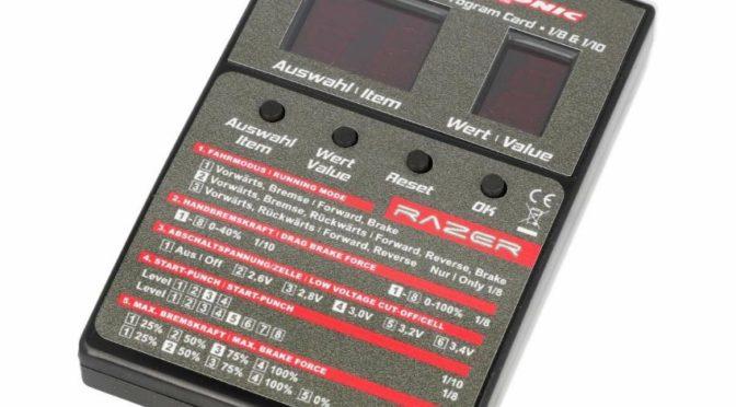 Robitronic LED Programmierbox Razer ten & eight