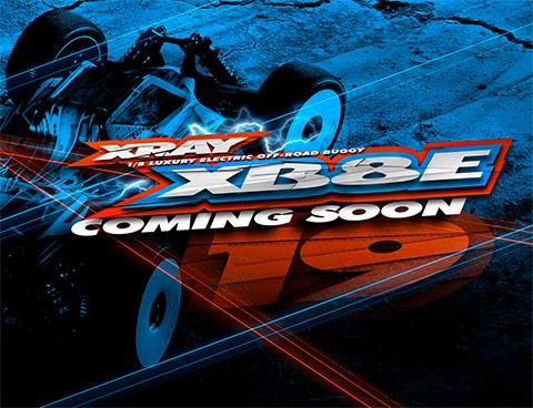 XRAY XB8E'19 kommt demnächst
