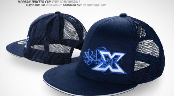 XRAY Trucker Cap – Blau