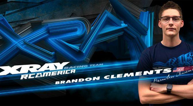 Brandon Clements wechselt zu XRAY