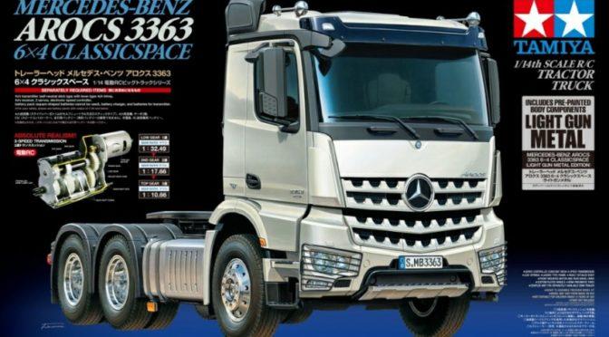 Mercedes-Benz Arocs 3363 6×4 ClassicSpace (Light Gun Metal Edition)