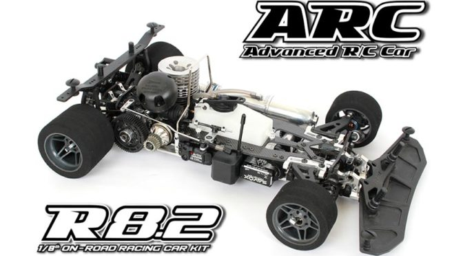 ARC R8.2 1/8 Onroad Racing Car Kit