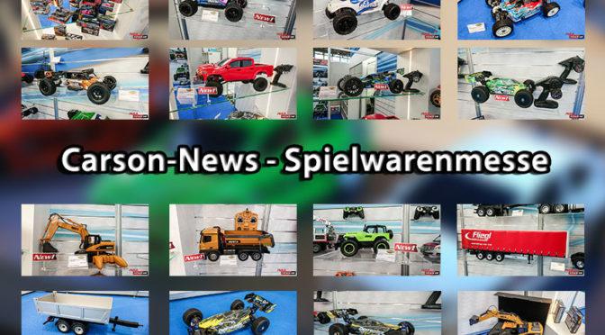 Carson präsentiert ein paar Neuheiten auf der Spielwarenmesse in Nürnberg