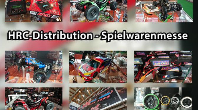 HRC-Distribution präsentiert ein paar Neuheiten auf der Spielwarenmesse in Nürnberg