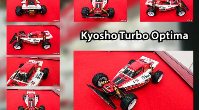 Kyosho zeigte den Turbo Optima auf der Spielwarenmesse in Nürnberg