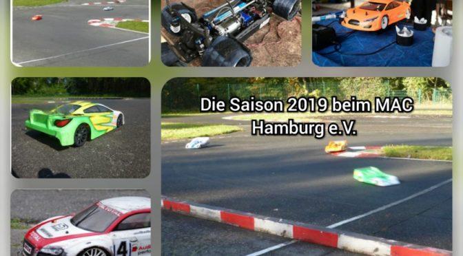 Die Saison 2019 beim MAC Hamburg e.V.