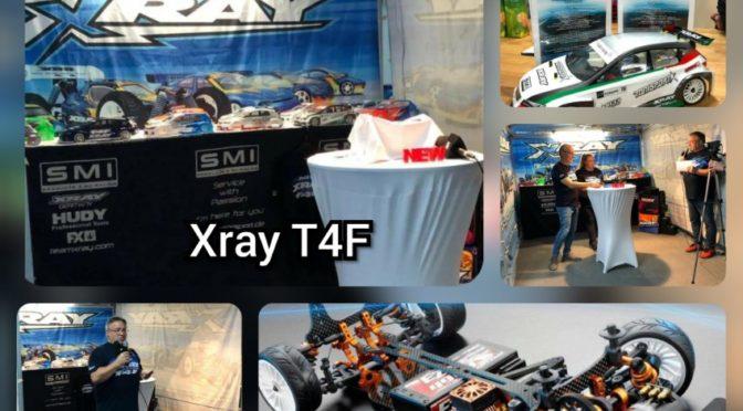 Gelungene Premiere des Xray T4F