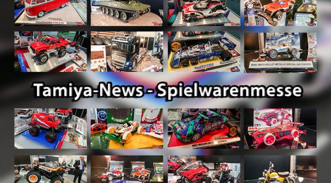 Tamiya präsentiert zahlreiche Neuheiten auf der Spielwarenmesse in Nürnberg