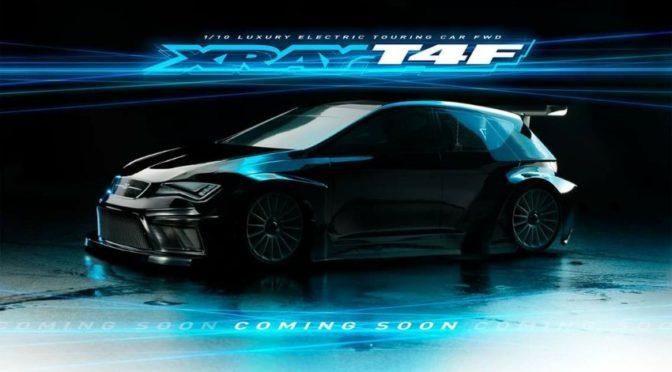 Xray T4F – Ein Teaserbild des FWD