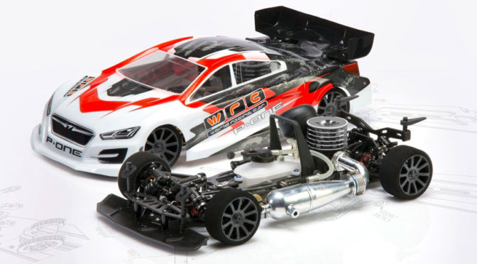 WRC-Racing NTX.3 1/10 Scale 4WD Nitro