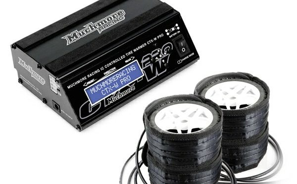 Muchmore – IC Controlled Tire Warmer Pro Long Belt Type für 1/10 Off-Road, 1/8 GT
