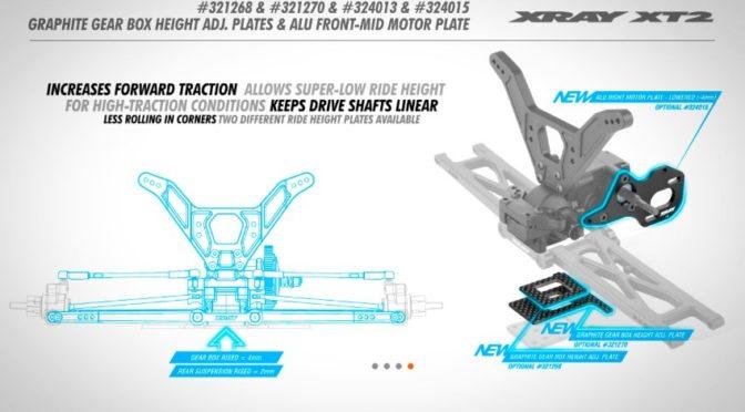 XT2 – Einstellbare Getriebehöhe