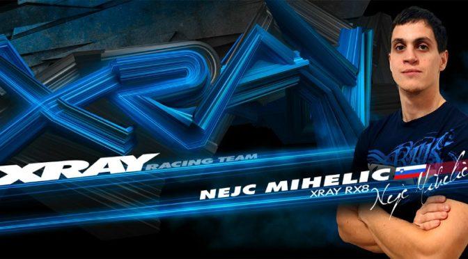 Nejc Mihelic wechselt zum XRAY Racing Team