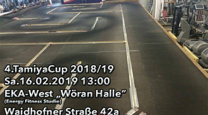 4.Lauf zum Tamiyacup Austria 2018/2019 in Greinsfurth