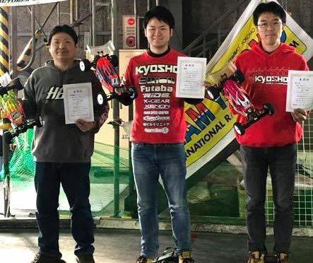 TEAM ORION'S KOHTA AKIMOTO gewinnt das 6.5TH ANNIVERSARY RACE in OSAKA/JP