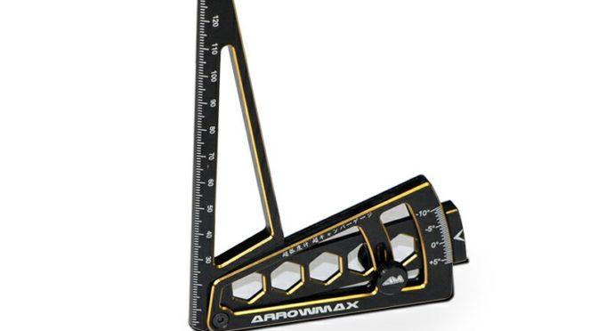 """Arrowmax – Sturzeinstelllehre 1/8 """"Black Golden"""""""