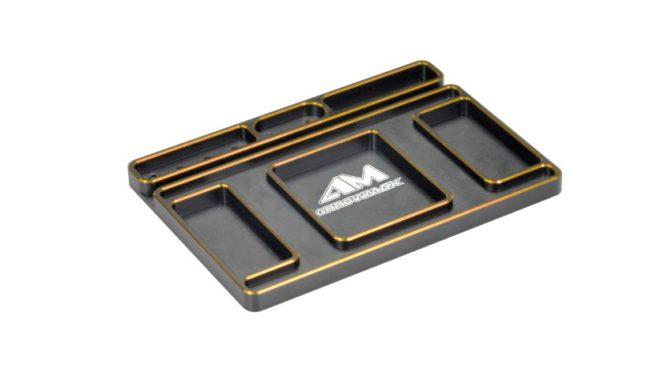 """Arrowmax – Ablageplatte """"Black Golden"""""""