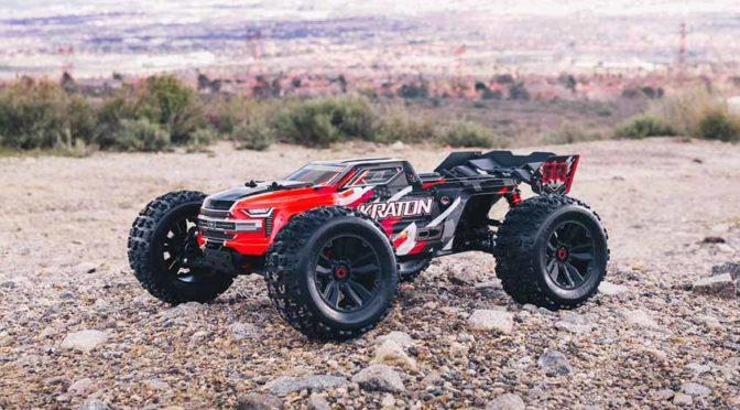 ARRMA® KRATON ™ 6S BLX 4WD Speed Monster Truck mit SPEKTRUM TECHNOLOGIE