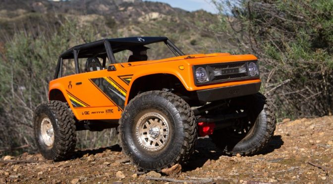 AXIAL® WRAITH™ 1.9 1/10 SCALE ELECTRIC 4WD RTR