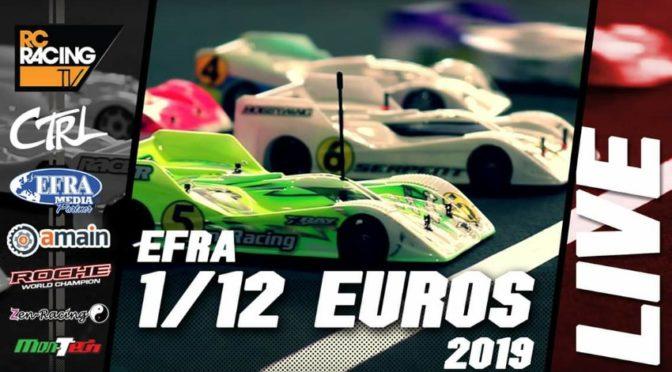 EFRA-News zur Euro 1/12 in der Hudy-Arena 2019
