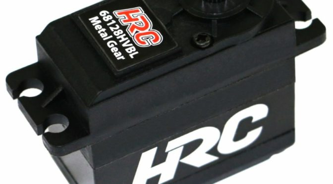 HRC Racing 68128HVBL High Voltage & High Torque Brushless Servo