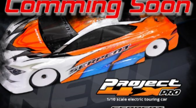 Serpent Project 4X PRO 1/10 EP Tourenwagen