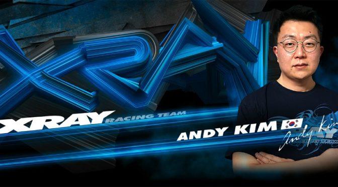 Andy Kim nun im XRAY Racing Team