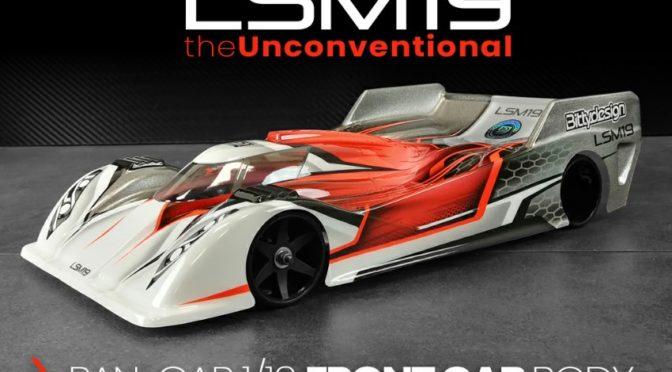Bittydesign LSM19 1/12 Pan-car FRONT CAB Karosserie