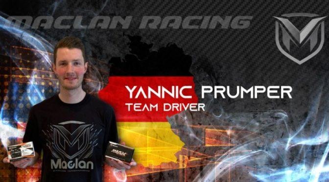 Yannic Prümper wechselt zum MACLAN Factory-Team