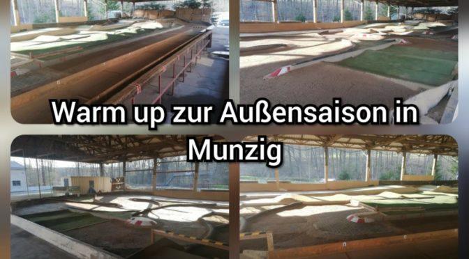 Warm up 2019 zur Außensaison in Munzig