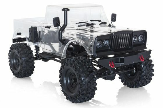 Hobbytech CRX Survival Crawler 4×4 KIT Chassis