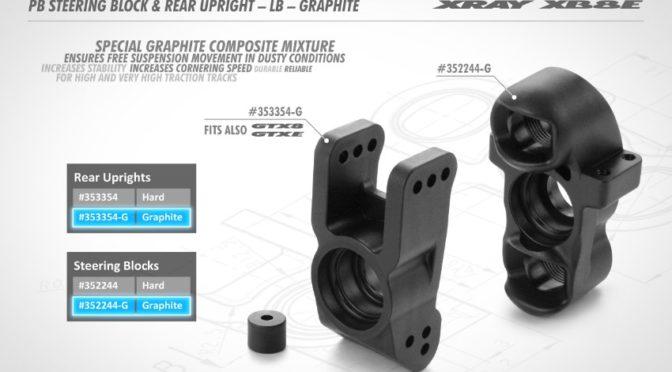 XB8 Lenkblock und hinterer Radträger – Graphite