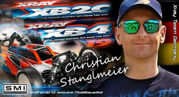 Christian Stanglmeier im XRAY Team GERMANY