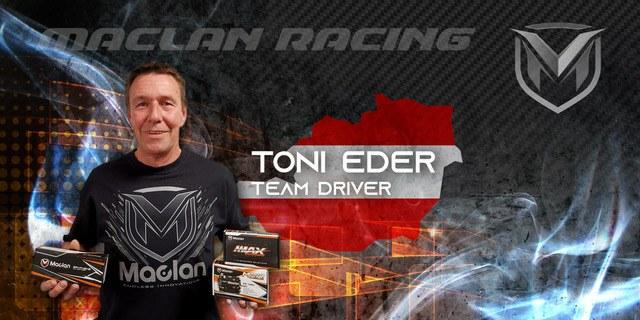Toni Eder neu im Team MACLAN