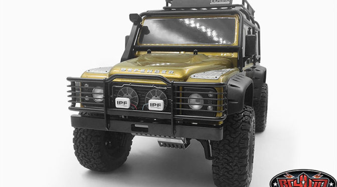 Camel Bumper for Traxxas TRX-4 Land Rover Defender
