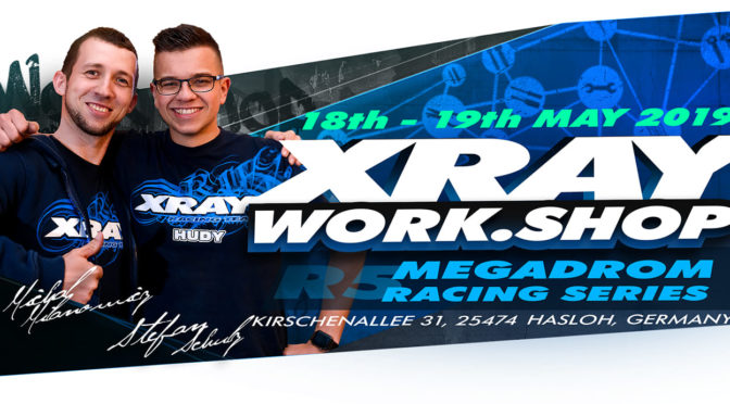Megadrom Racing Series R5 in Hasloh mit Xray-Workshop