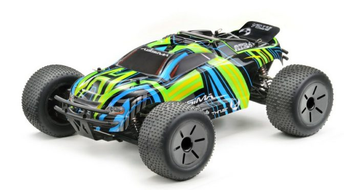 """Die neue Hotshot 3.4BL Serie bei Absima – 1:10 EP Truggy """"AT3.4BL"""" 4WD Brushless RTR"""
