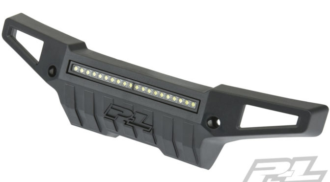 PRO-Armor Front Bumper with 4″ LED Light Bar Mount