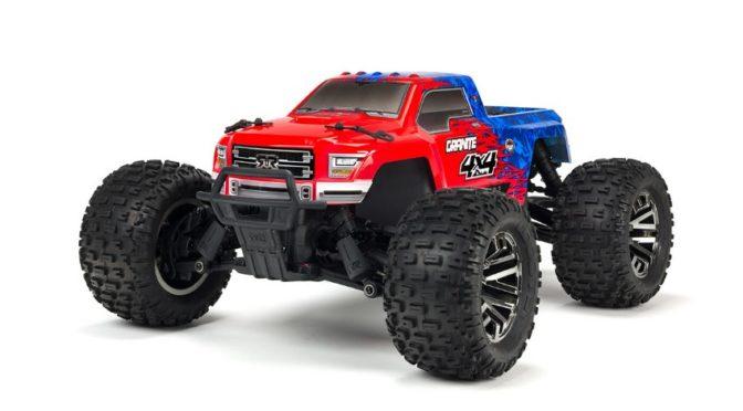 ARRMA 1/10 GRANITE 3S BLX 4WD Brushless Monster Truck mit Spektrum RTR