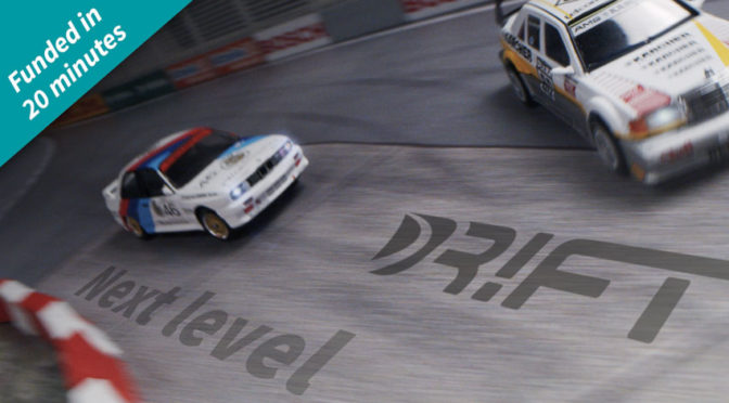 The next level – DR!FT-Racer erstmals mit vorbildgetreuen Karosserien