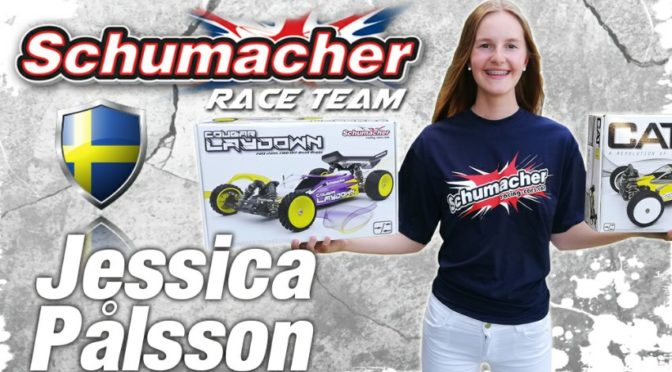 Jessica Pålsson nun im Schumacher Racing Team