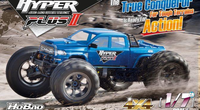 Hobao kündigt einen Hyper Plus II Monster Truck an