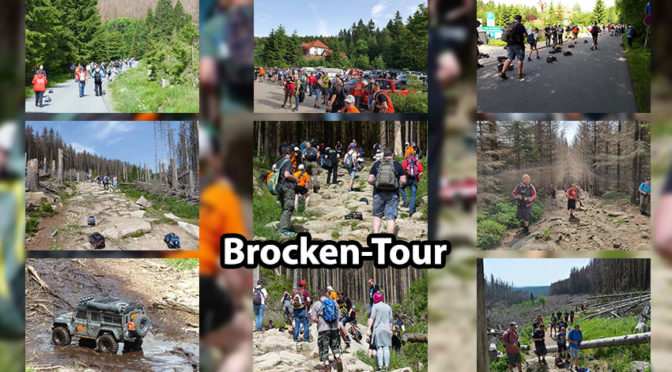 Brocken-Tour 2019 – Der Brocken war fest in Hand der Crawler und Scaler!