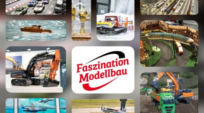Celebrate good times! Die FASZINATION MODELLBAU 2019
