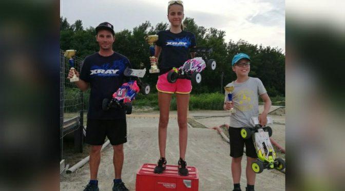 Antonia Kovalszki siegt beim SRCM Track Opening Race, Hungary