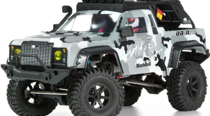 Neu! BULL SCALER EP – 1:10 4WD Scale Crawler RTR mit 2.4GHz Fernsteuerung