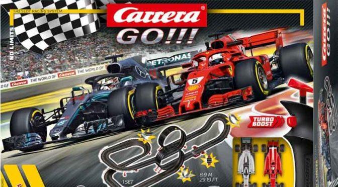 Carrera GO!!! bringt echtes Formel-1-Feeling ins Kinderzimmer