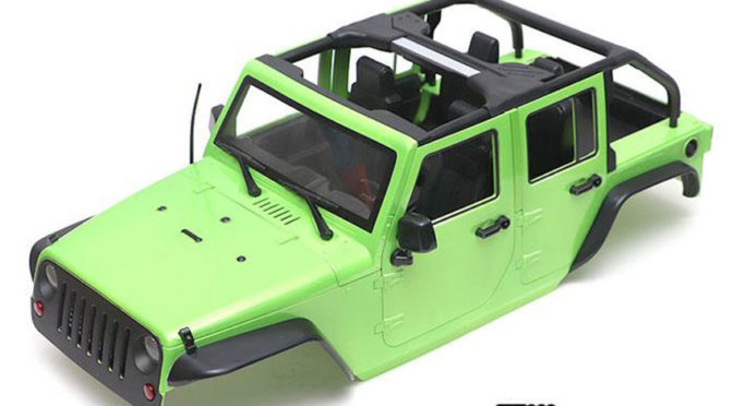 Open-Top Rubicon 5 Door Hard Body