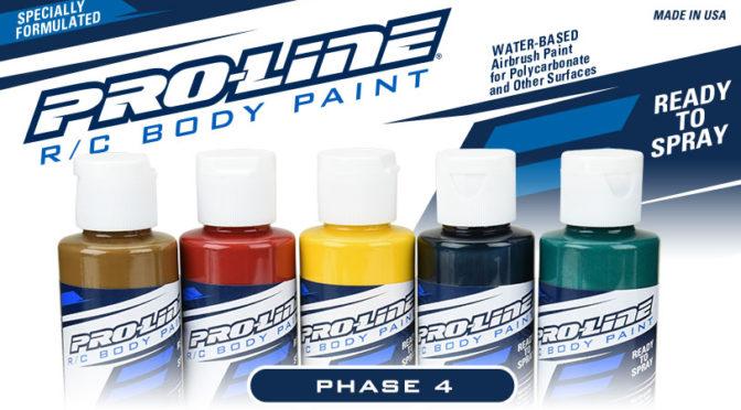 5 neue Farben von Pro-Line